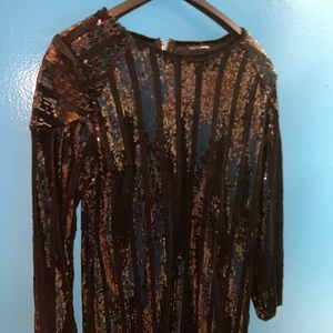 She's A Show Off Sequin Dress - ONLY WORN ONCE